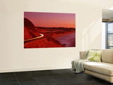Pacific Coast Highway at Sunset, California, USA Mural