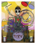 El Baterista (The Drummer) Photographic Print by Ladislao Loera
