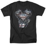 Superman - V Twin Logo T-shirts