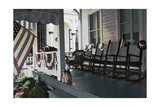 Americana, Cape May, New Jersey Photographic Print by George Oze