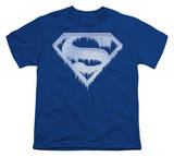 Youth: Superman - Ice and Snow Shield T-shirts