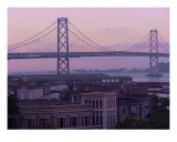 City By The Bay At Dusk Photographic Print by Evin O'keeffe