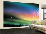 Northern Lights Wall Mural – Large