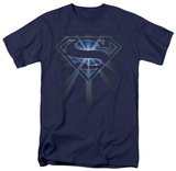Superman - Glowing Shield T-shirts