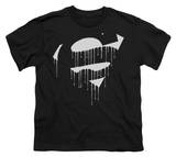 Youth: Superman - Dripping Shield T-shirts