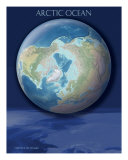 Arctic Ocean View Of Earth Giclee Print by Tibor Toth