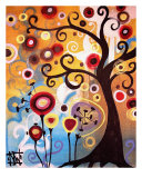 June Tree Wydruk giclee autor Natasha Wescoat