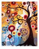 Árbol de junio (June Tree) Lámina giclée por Natasha Wescoat