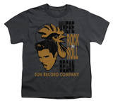 Youth: Sun Records - Elvis &amp; Rooster T-shirts