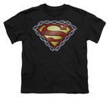 Youth: Superman - Chained Shield T-shirts