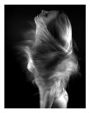 Artistic Whirl Wind Nude Photographic Print by River Clark