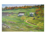 Early Settlers On The Polish Hills Giclee Print by Irene Clarke