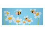 Bees Giclee Print by Astrid Wielinga-van Zwol