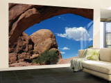 North Window, Arches National Park, Utah, USA Wall Mural – Large