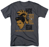 Sun Records - Elvis & Rooster T-Shirt