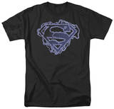 Superman - Electric Supes Shield Shirts
