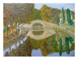 Canal Du Midi Photographic Print by Corinne Ertle