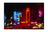Art Deco District, South Beach, Miami Photographic Print by George Oze