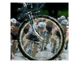 Cycling Photographic Print by Robert Elfferich