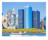 Lower Manhattan Skyscrapers Photographic Print by New Yorkled