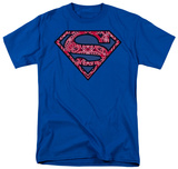 Superman - Paisley Shield T-Shirt