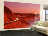 Pacific Coast Highway at Sunset, California, USA Wall Mural – Large