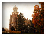 Logan Temple - Autumn Photographic Print by Ryan Houston