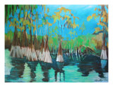 Atchafalaya 3 Giclee Print by S. G. Smith