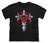 Youth: Superman - Gothic Steel Logo T-shirts