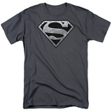 Superman - Super Metallic Shield T-shirts