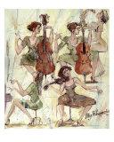 Quintet Giclee Print by Oleg Poberezhnyi