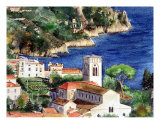 Ravello (Amalfi Coast, Italy) Giclee Print by Harriet Solit