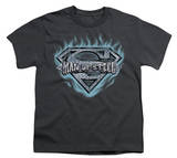 Youth: Superman - Man of Steel Shield T-shirts