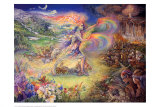No More Poster by Josephine Wall