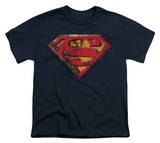 Youth: Superman - Rusted Shield T-shirts