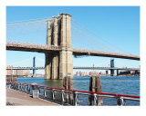Brooklyn Bridge Across The East River Photographic Print by New Yorkled