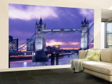 Tower Bridge, Landmark, London, England, United Kingdom Wall Mural  Large