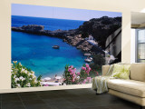 Coastline of Rhodes, Greece Wall Mural – Large