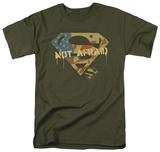 Superman - Not Afraid T-shirts