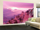 Rock Formations in a National Park, Yaki Point, Grand Canyon National Park, Arizona, USA Premium Wall Mural (Large)
