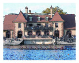 Boat House Giclee Print by Kathryn M. Smith