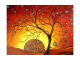Setting Circle Giclee Print by Megan Aroon Duncanson