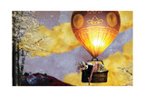 Sleep Balloon Giclée-trykk av Nancy Tillman