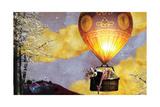 Sleep Balloon Wydruk giclee autor Nancy Tillman