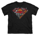 Youth: Superman - Breaking Chain Logo T-shirts