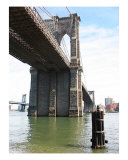 The Mighty Brooklyn Bridge Photographic Print by New Yorkled