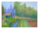 Another Grey June Day Giclee Print by Jacquie Gouveia