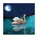 Swan And Child Reproduction proc&#233;d&#233; gicl&#233;e par Nancy Tillman
