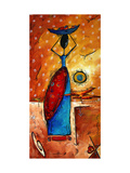 African Queen Giclee Print by Megan Aroon Duncanson