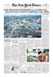 New York Times, August 31, 2005: Hurricane Katrina, Giclee Print